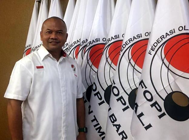 Andy Indarto DTN de la Fédération Indonésienne de Pétanque